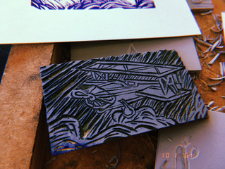 Lino & Litho Printmaking Let's Play!
