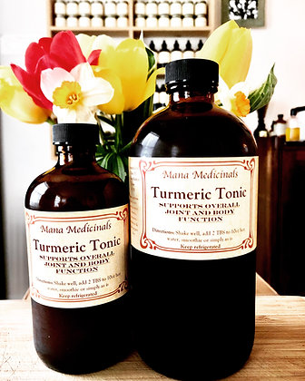 Tumeric Tonic, 8oz
