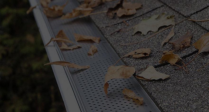 Leaf guard installation