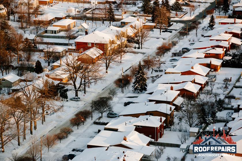 Roof repairs in Mississauga