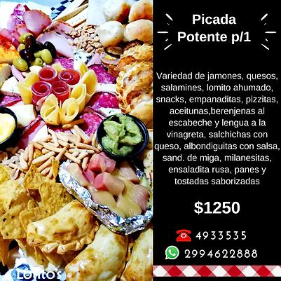 Picada Lotitos