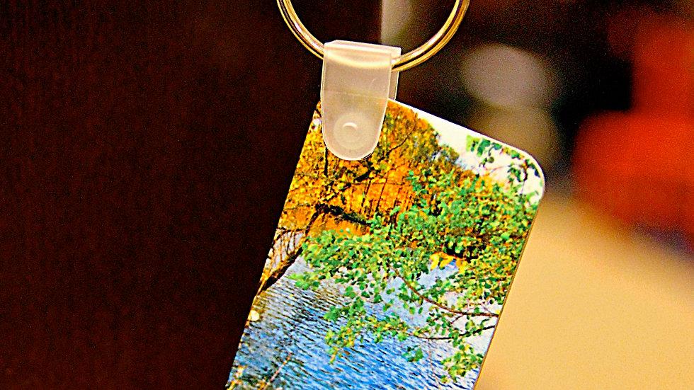 Michigan Fall Colors Keychain