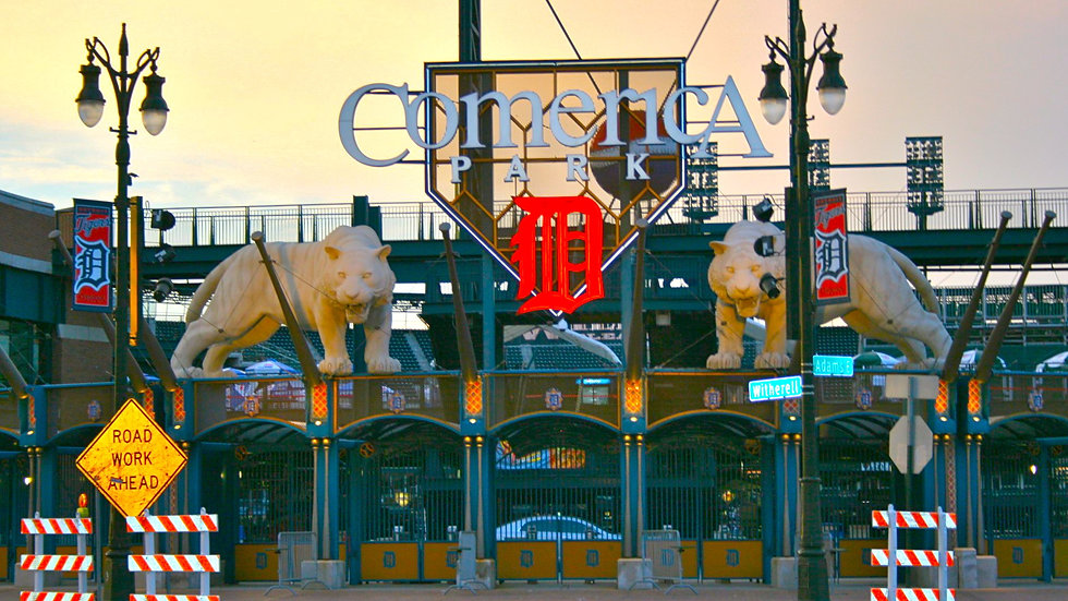 Comerica's Original Entrance