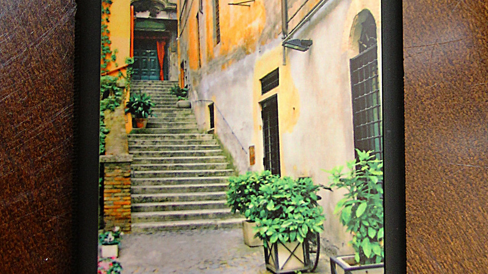 Side Streets in Rome, Italy