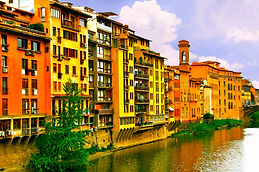 Homes Off The Arno River.JPG