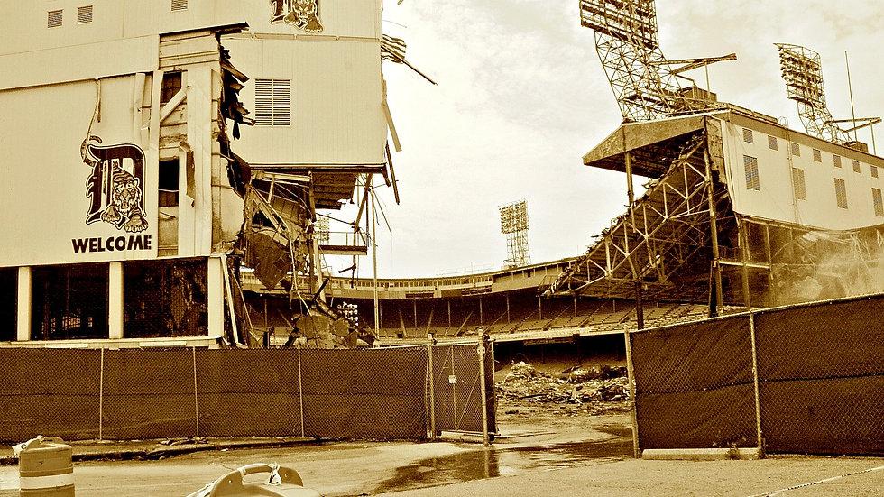 Tearing down Tiger Stadium_2