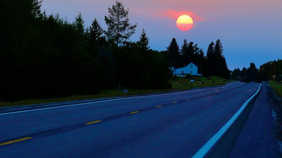 A Northern Sunset -Michigan's Upper Peninsula