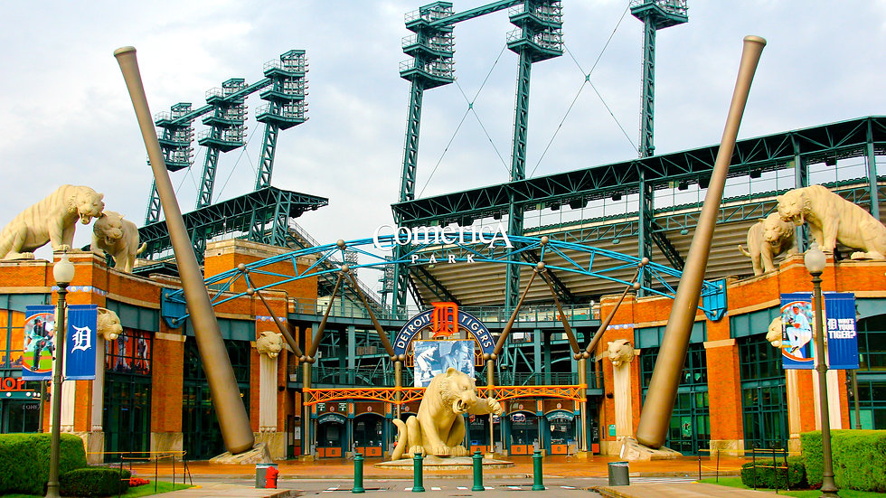 Comerica's Front Entrance