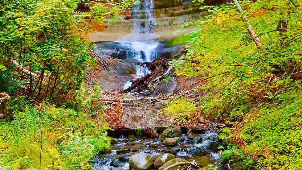 Munsing Falls, Munsing, Michigan