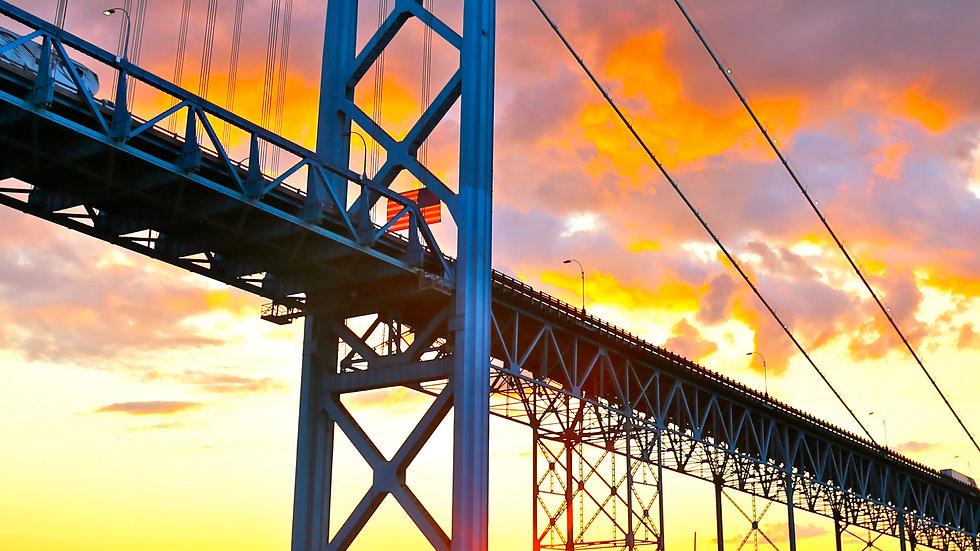 Under The Bridge; beautiful sky 3