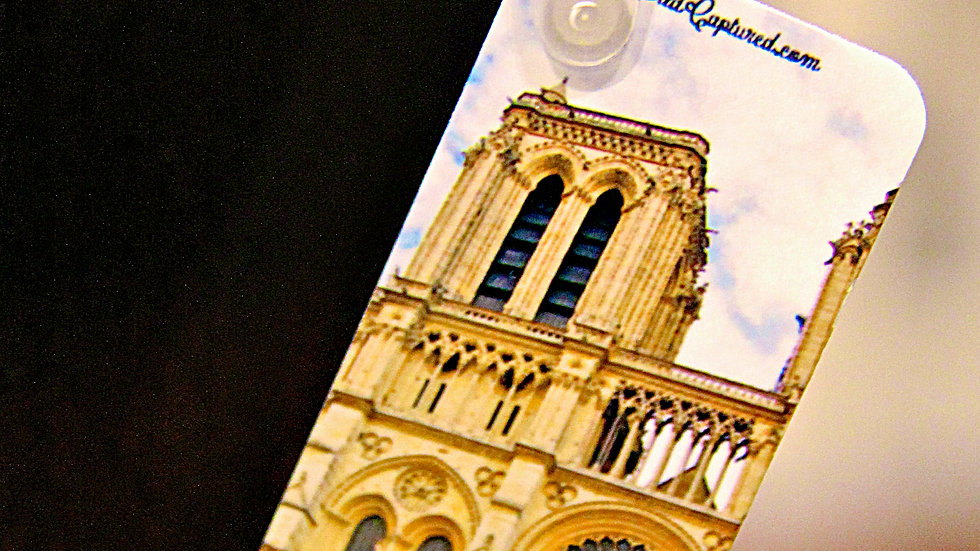 The Notre Dame Cathedral Keychain