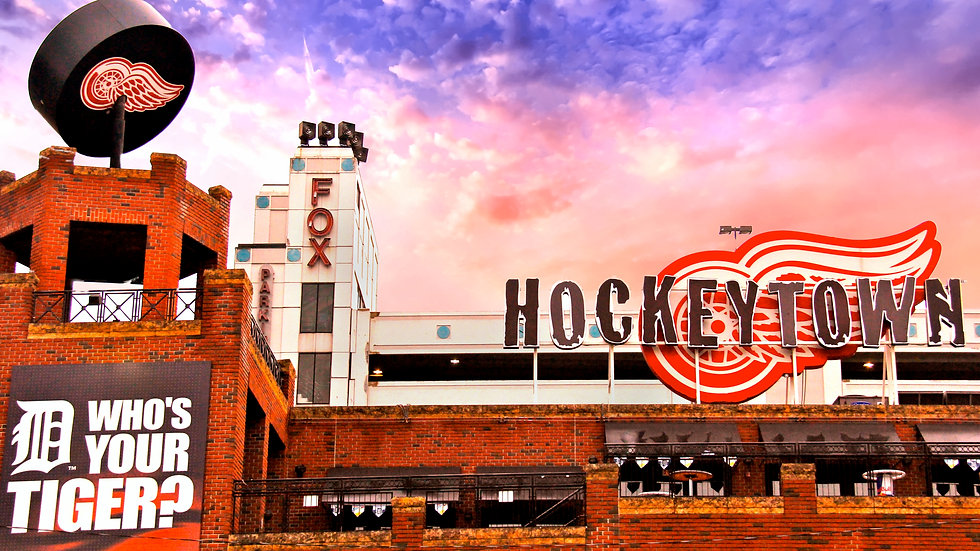 Puck, Who's Your Tiger, & Hockey Town