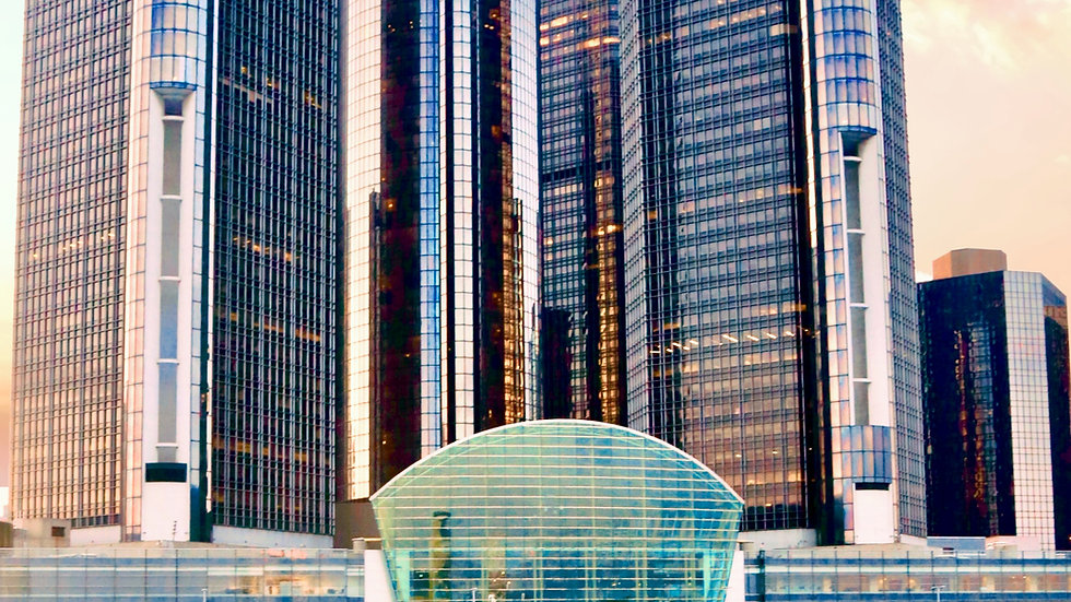 Floating By The Ren Cen