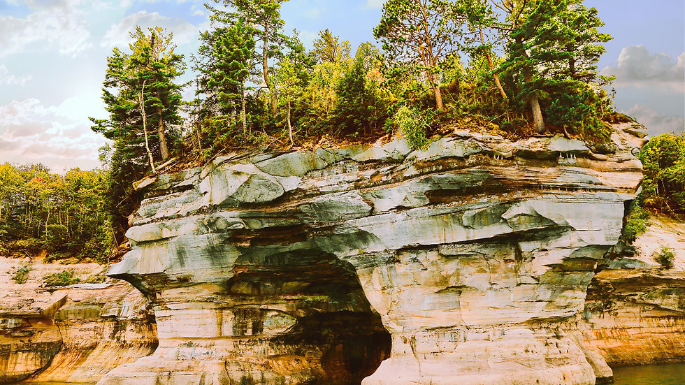 'Indian Drum' Rocks