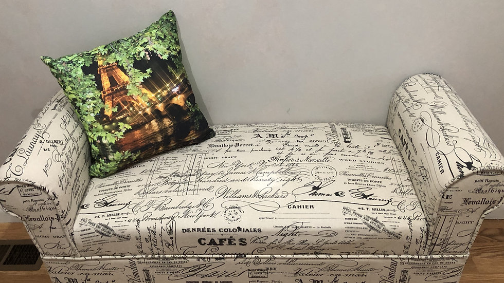 'Paris Beauty' (in the spring) pillows