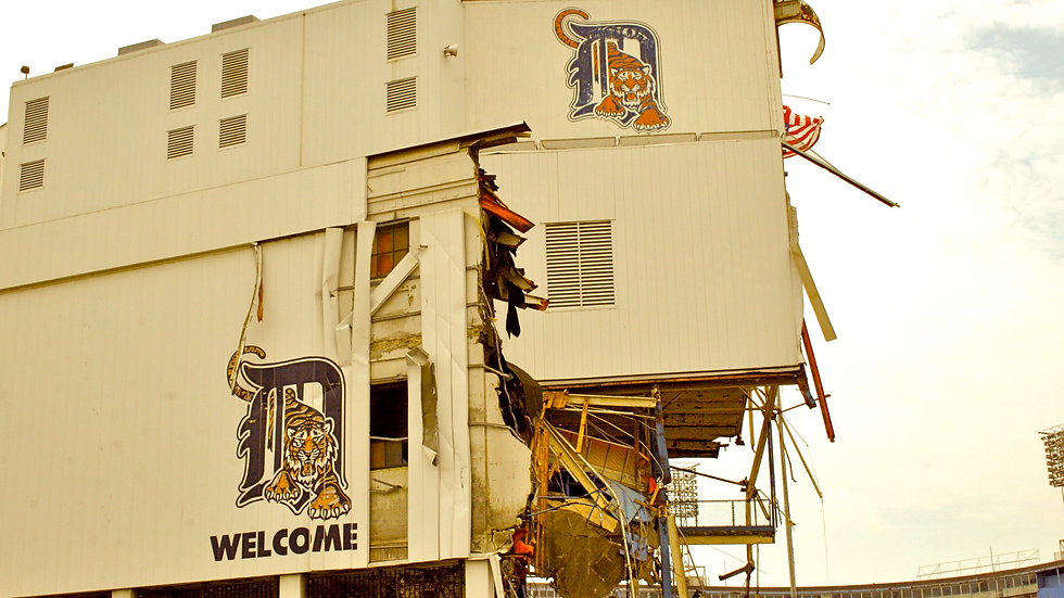 Tearing Down Tiger Stadium