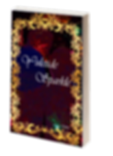 Yuletide Sparkle book cover. Holiday ornaments surrounded by a gold border.