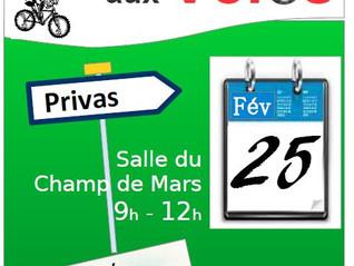 Bourse aux vélos 25 Février