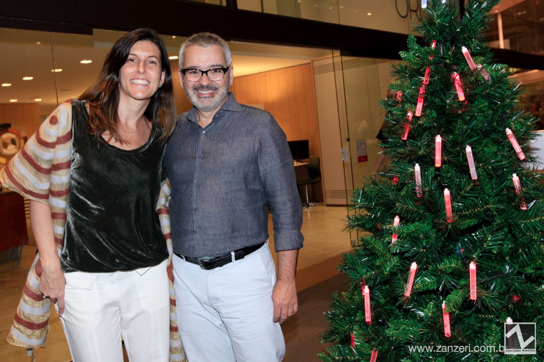 Daniela Cianciaruso e Ricardo Caminada