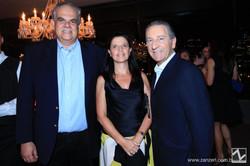 Silvio Bentes com Sophia e Eduardo Barrieu_