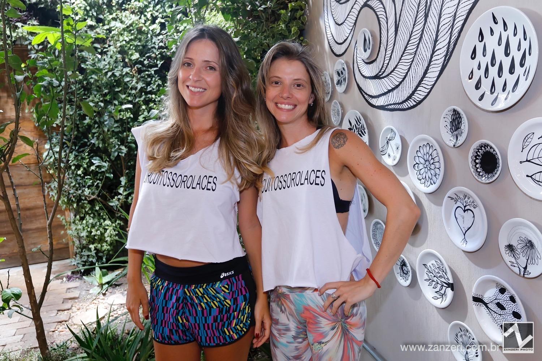 Carolina Klein e Fernanda Nogueira