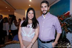 Mariana Thihara e Pedro Santos