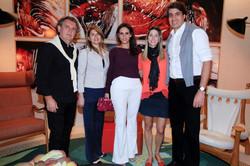 Walkiria e Angelo Derenze com Andrea Costa, Luciano Menezes e Juliana Menezes_00