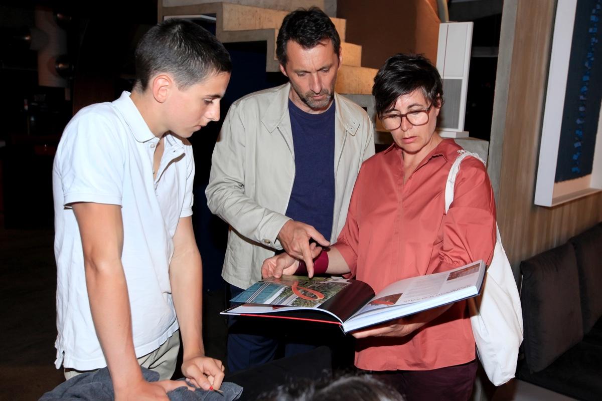 Antoine, Xavier Veilhan e Laurence Veilhan.jpg