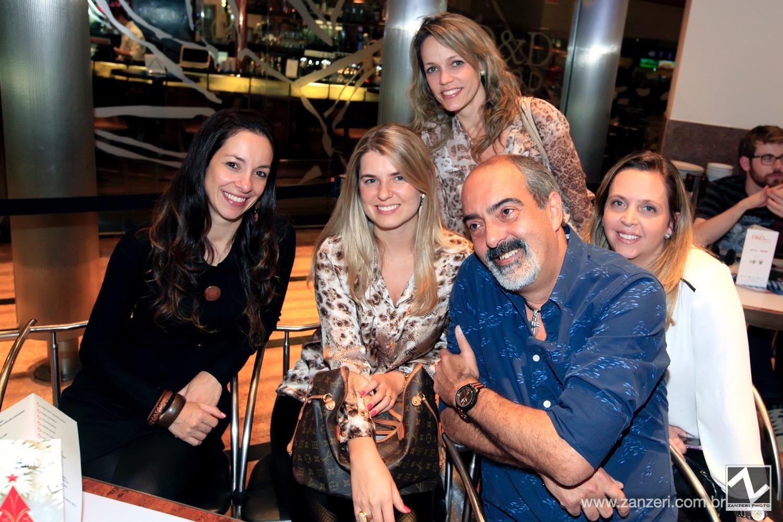 Daniela Cortez,  Natalia Meyer, Ludmila Lepri, Paulo Evangelista e Claudia Gallasso_0001