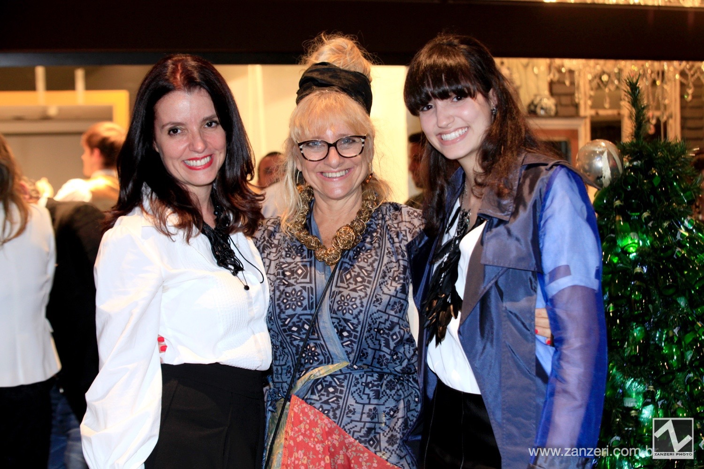 Elizabeth Soares, Gina Elimelek e Victoria de Luna