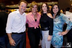 Christian Kadow, Monica Novaes, Ana Rozenblint e Rita de Cassia Camilo