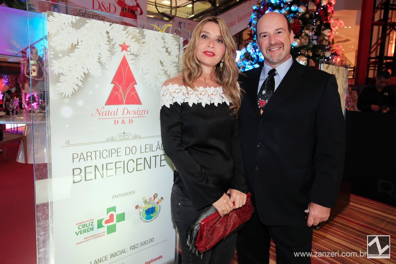 Elizabeth Ctenas e Roberto Magalhaes Gouvea