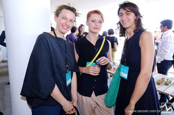 Sabine Schimidt, Veronika Bjararsch e Michaela Lutea