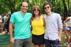 Henrique Murgel, Joia Bergamo e Fabio Brazil