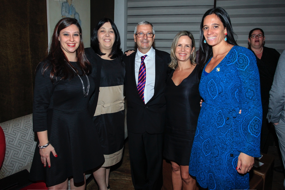 Daniella Bordini, Sheila Caetano, Jair Mari, Cristiana Silvestre De Paula e Joan