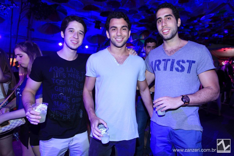 Gabriel Rocha, Gabriel Hamuche e Jose Paulo Cury