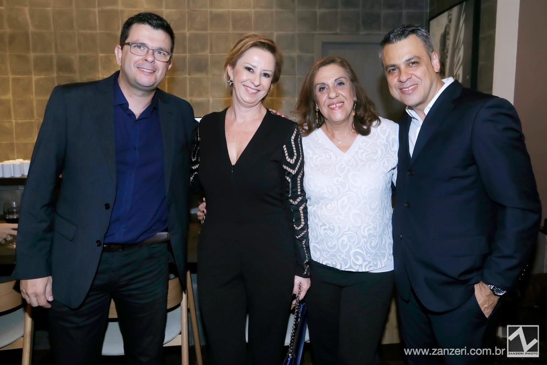 Wagner Cassiano, Marta Sousa, Carmem Sousa e Wilias Sousa