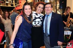 Renata Garcia, Lais Poveda e Ademir Garcia