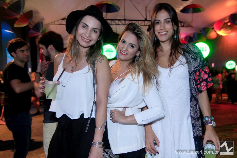 Bruna Maran, Mariel Ferreira e Isabela Carvalho