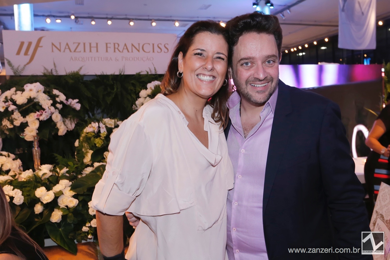 Bruna Monteiro e Nazih Franciss