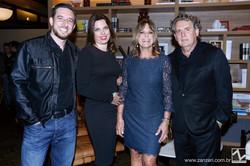 Mario Renato, Cibelle Bergamo, Joia Bergamo e Angelo Derenze