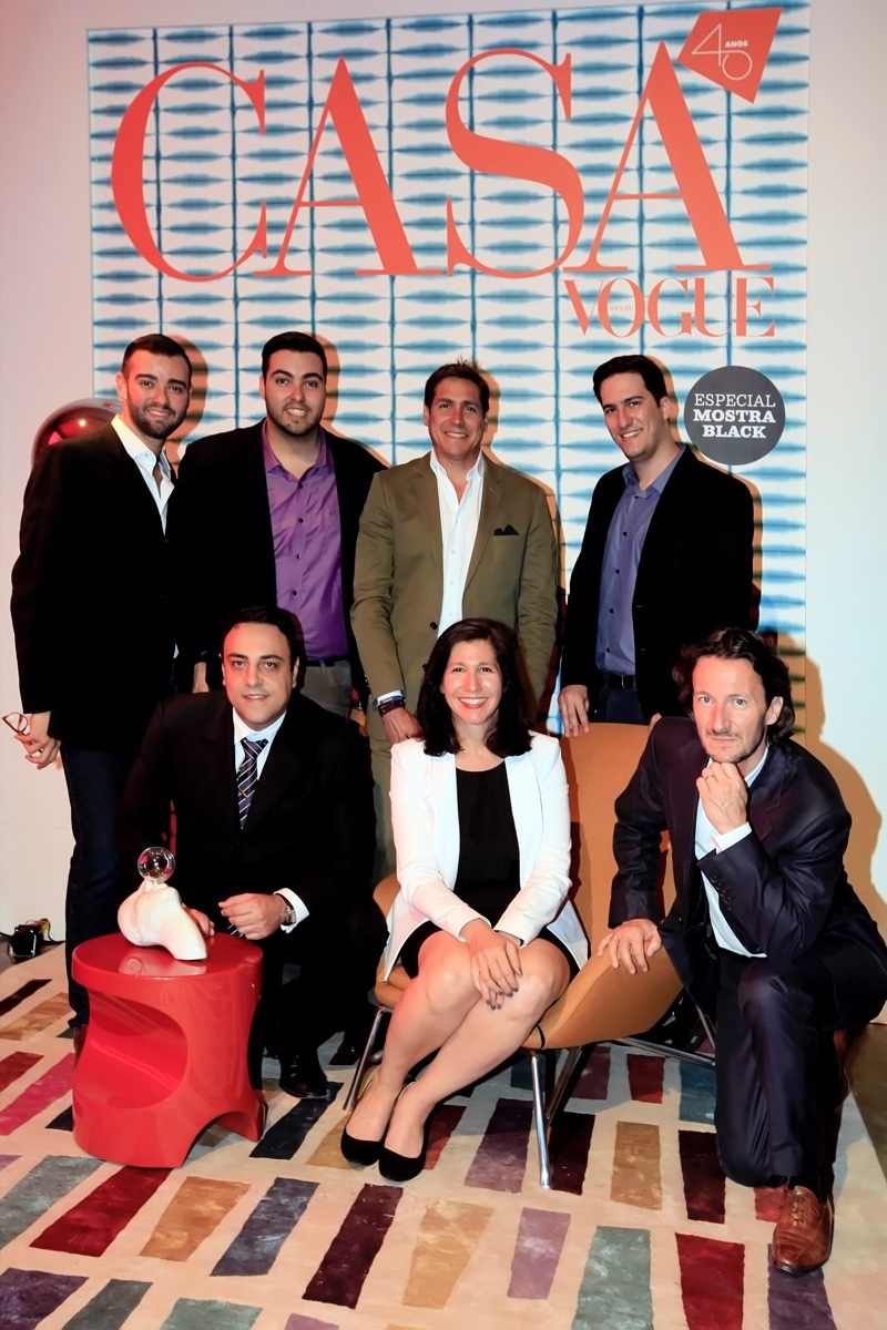 Eduardo Borges, Marcelo Borges,  Jaime Jimenez, Arthur Athayde, Luiz Began, Mich