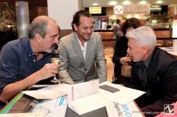 Paulo Evangelista, Geraldo Queiroz e Leo Shehtman