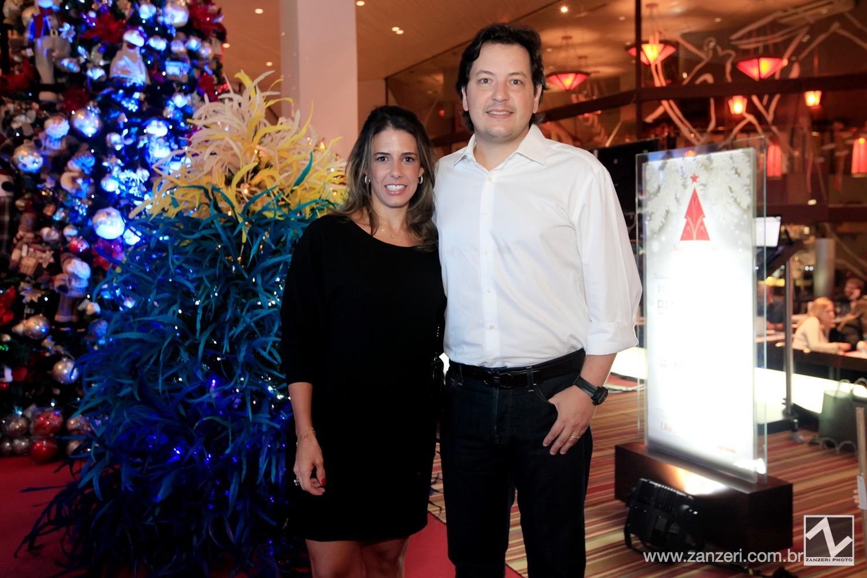 Bruna Ximenez e Andre Leite