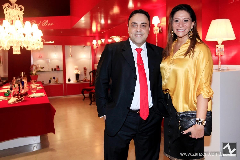 Luiz Began e Lu Sabbag