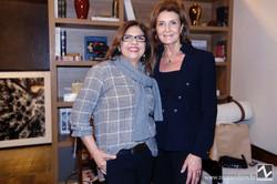 Lourdes Botura e Cris Ferraz