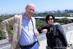 Brian Boucher e Sue Stoffel