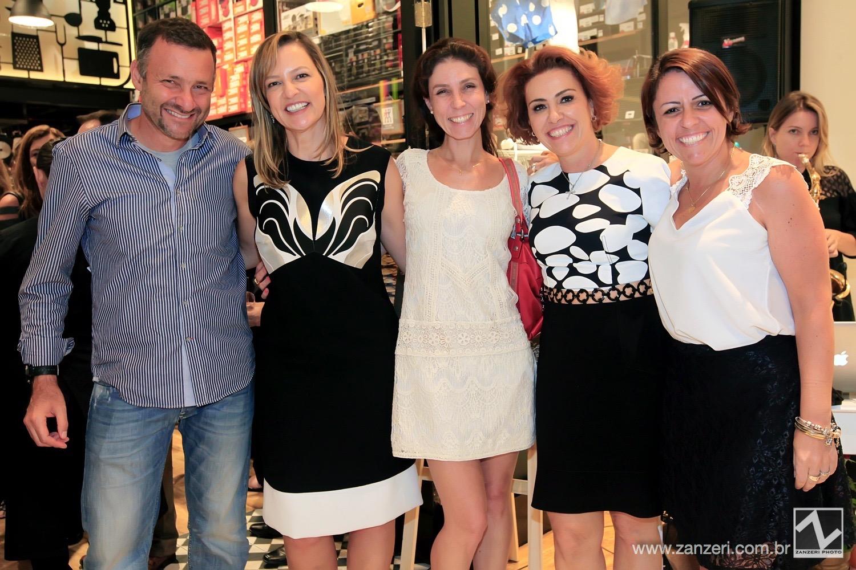 Umberto e Monika Milo e Fernanda Seiler com Lais Poveda e Tuti Generali