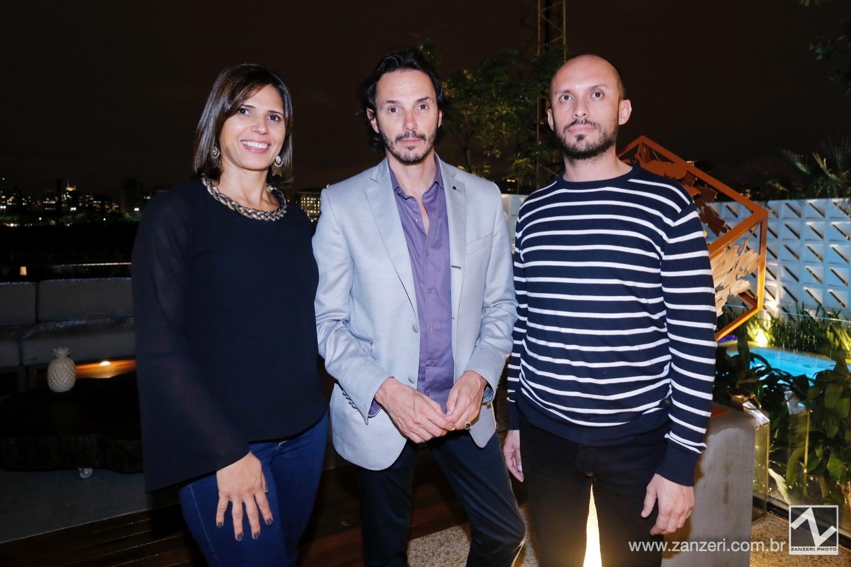 Carla Seripierri, Ricardo Pessoto e Rogerio Rabelo
