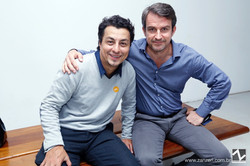 John Frasser e Lorenzo Vigas